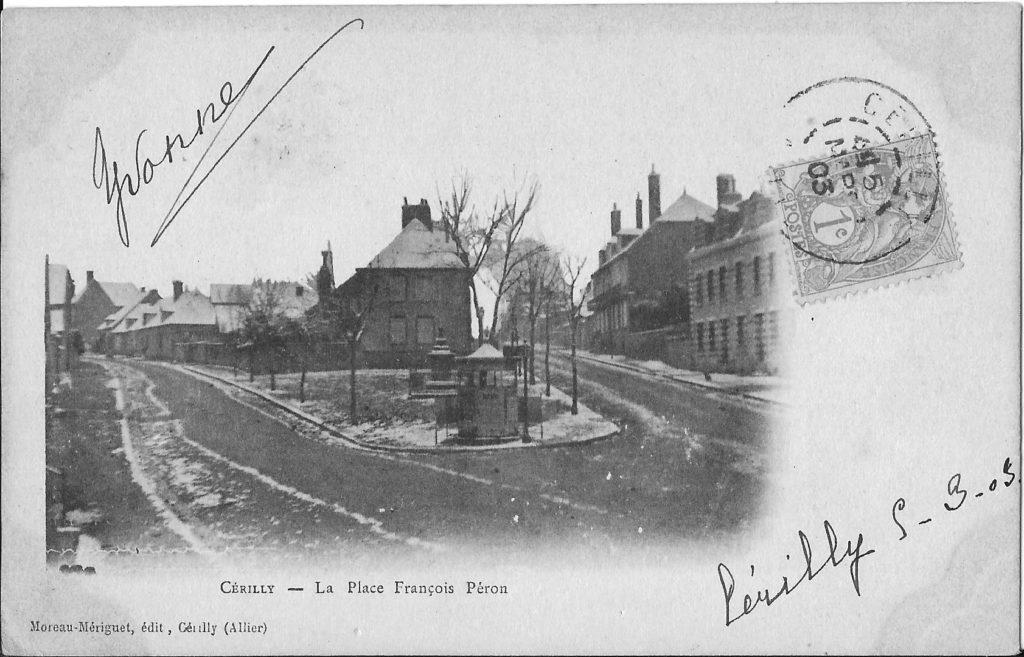 L'attribut alt de cette image est vide, son nom de fichier est cérilly-place-péron-1903-1024x657.jpg.